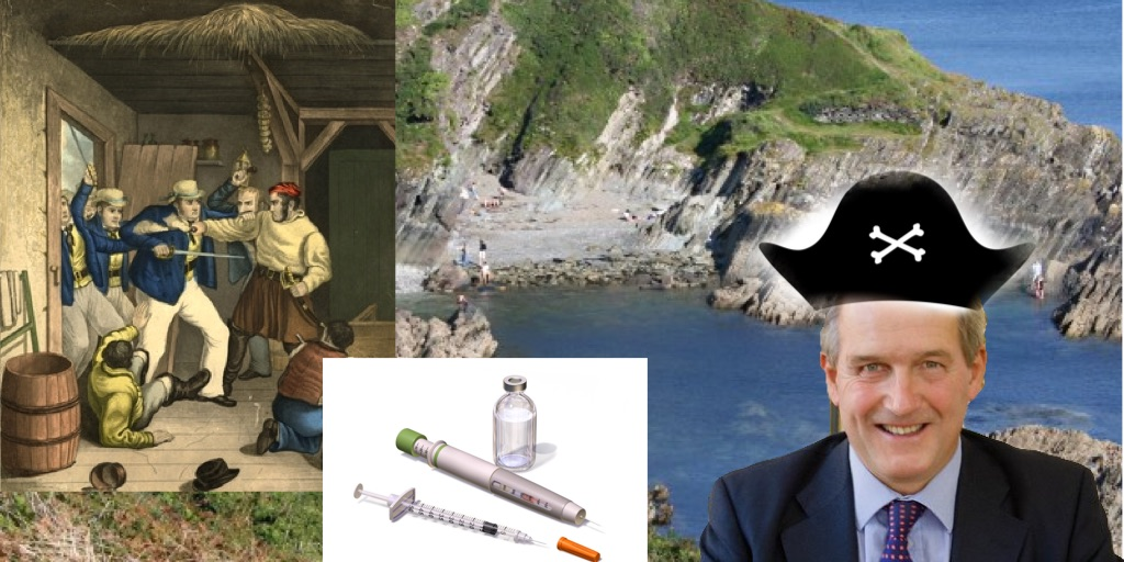 Cornwall to build hundreds of new coves in preparation for smugglers post Brexit